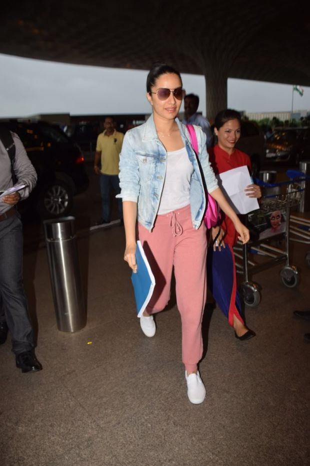 Bollywood Stars And Their Obsession With White Sneakers At The Airport