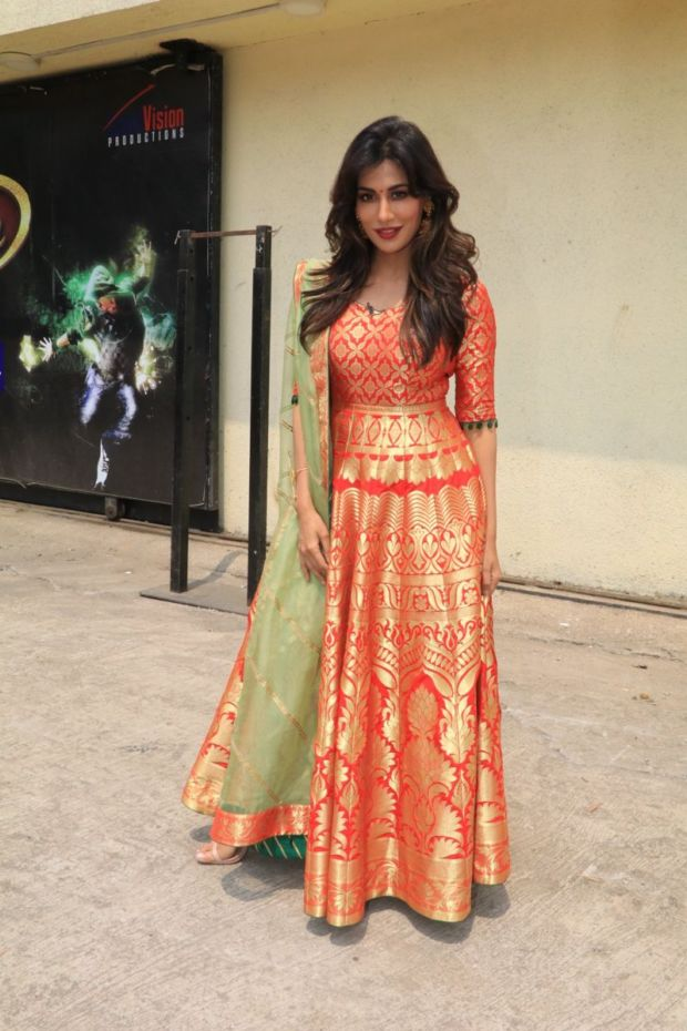 Chitrangda Singh Visited The Sets Of DID