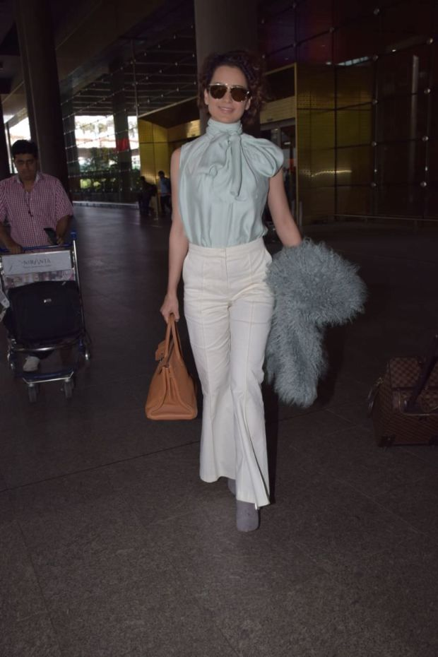 Kangana Ranaut Made A Classy Appearance At The Airport
