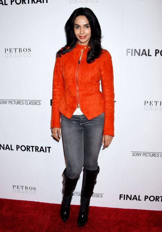Mallika Sherawat Attends 'Final Portrait' Screening