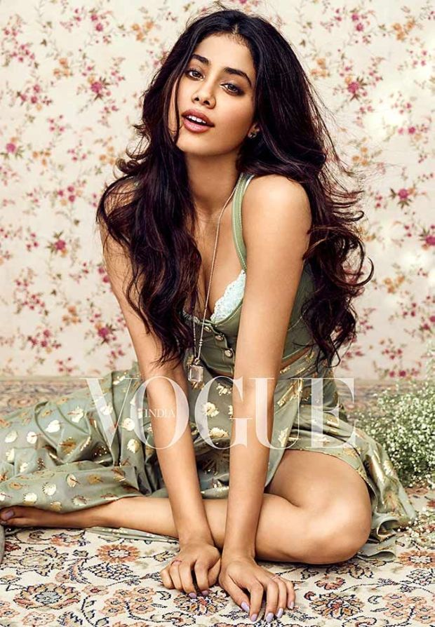 Janhvi Kapoor Latest Photoshoot For Vogue India