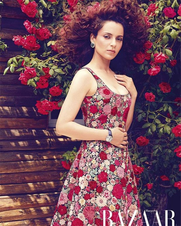 Kangana Ranaut Photoshoot For Harper's Bazaar Magazine