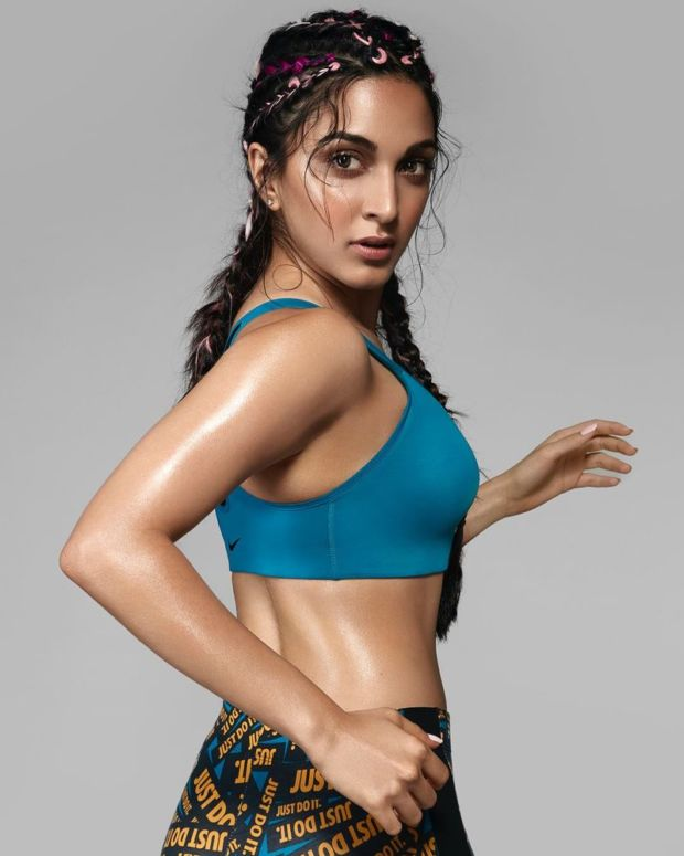 Kiara Advani For The Front Runner Fitness Shoot For FHM