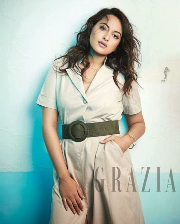 Sonakshi Sinha Latest Photoshoot For Grazia
