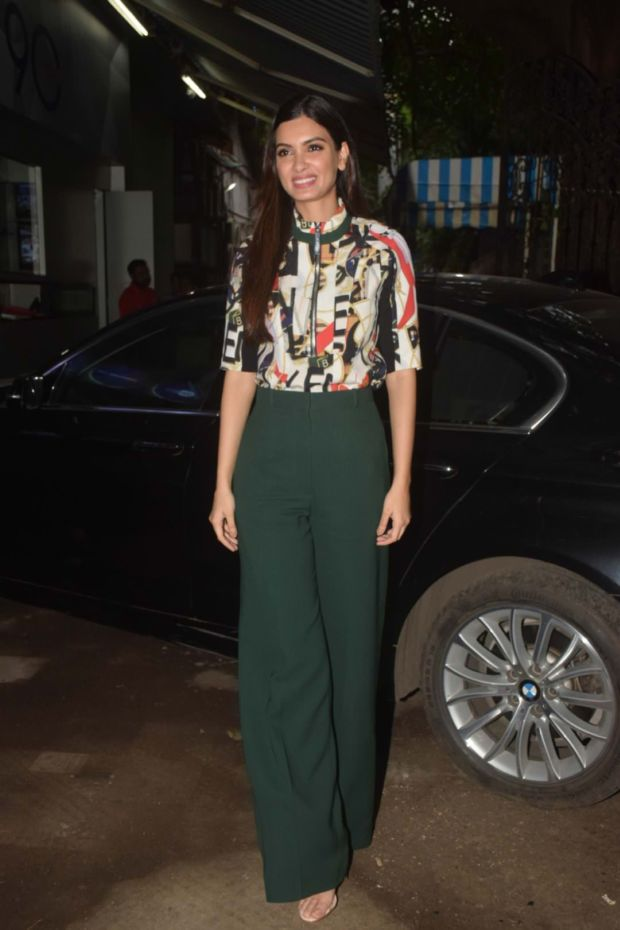 Diana Penty Gets Trouser-Code Right At Promotions Of Happy Phirr Bhaag Jayegi