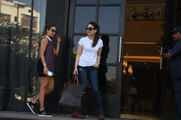 Kareena Kapoor Out Shopping With Amrita Arora At Gauri Khan's Store