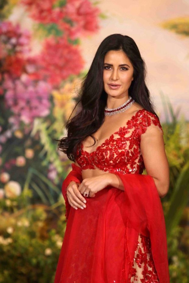 Katrina Kaif At Sonam Kapoor & Anand Ahuja Wedding Reception