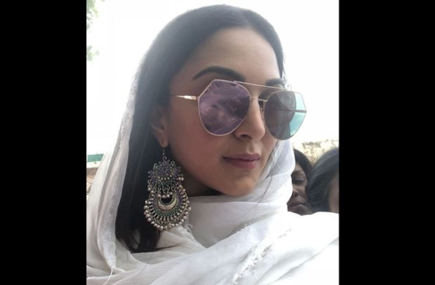 Kiara Advani Enjoys Her Day Out In Hyderabad