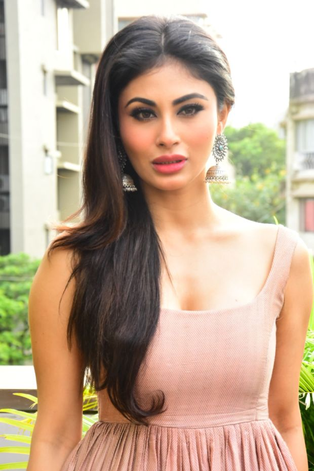 Mouni Roy In Lovely Pink Gown During 'Gold' Movie Promotions