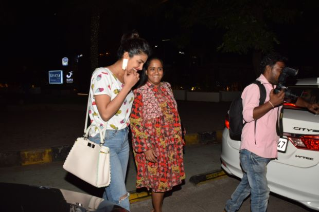 Priyanka Chopra On An Evening Out With Arpita Khan