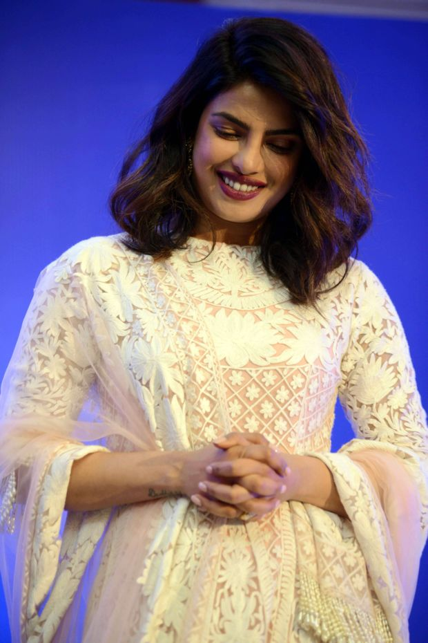 Priyanka Chopra In A Desi Avatar For A Book Launch Event