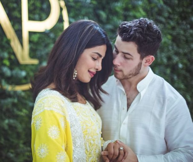 Priyanka Chopra's Official Engagement Pictures