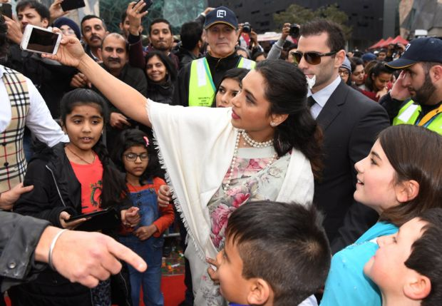 Rani Mukerji Hoists The Tricolour At The Indian Film Festival Of Melbourne