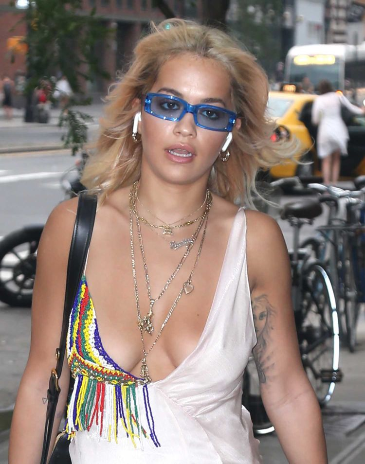 Rita Ora Out And About In NY