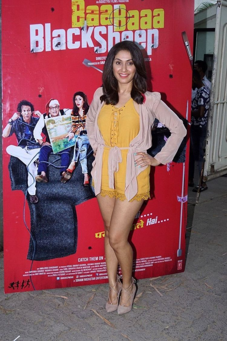 Manjari Phadnis At Special Screening Of Her Film 'Baa Baaa Black Sheep'
