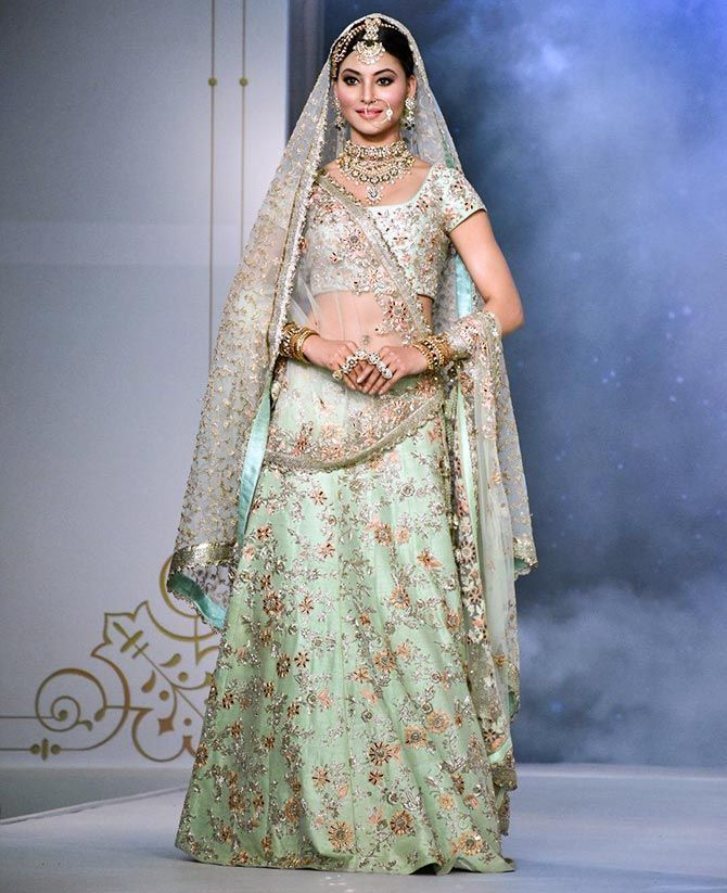 Urvashi Rautela Looked Fabulous As A Summer Bride