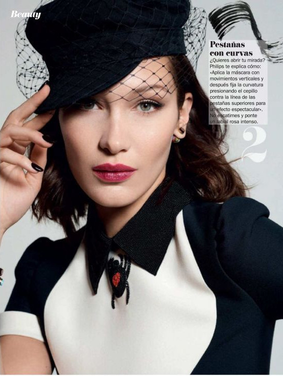 Bella Hadid Shoots For Cosmopolitan Spain's April 2018 Issue