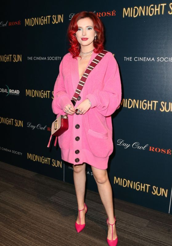 Bella Thorne Dazzle At 'Midnight Sun' Screening In New York
