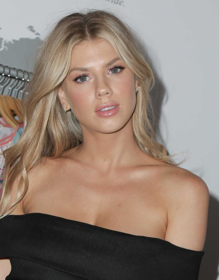 Pretty Charlotte McKinney In Black At The Kindom Summer Soiree