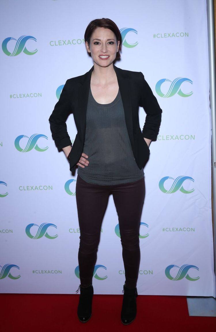 Chyler Leigh Attends 'Cocktails for Change' Event In Las Vegas