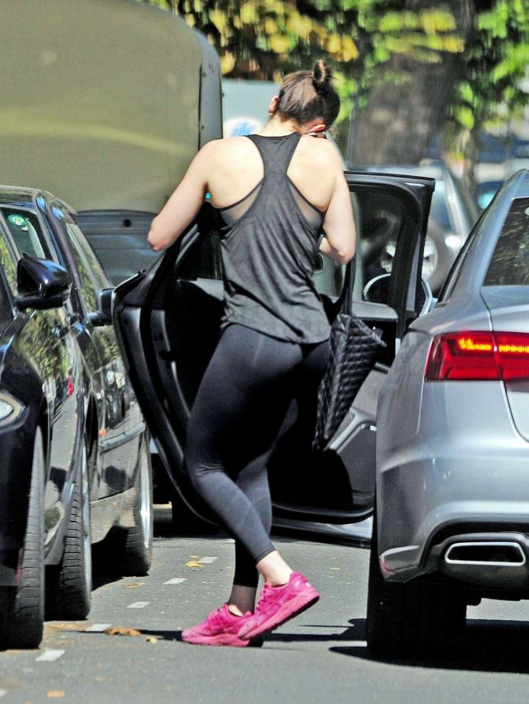 Daisy Ridley Candids In Gym Gear In Notting Hill