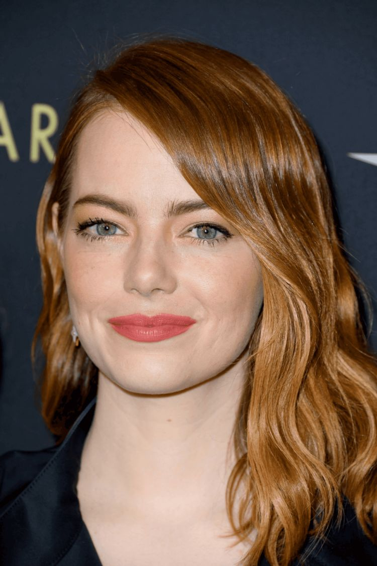Emma Stone In Black At 19th Annual AFI Awards