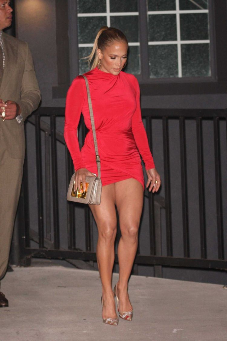 Jennifer Lopez Candids Out In West Hollywood