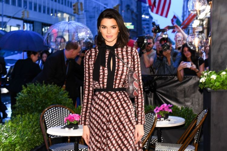 Kendall Jenner Attends The Longchamp Fifth Avenue Store Opening Event