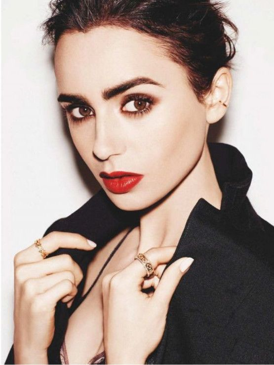 Lily Collins Graces InStyle Spain Magazine