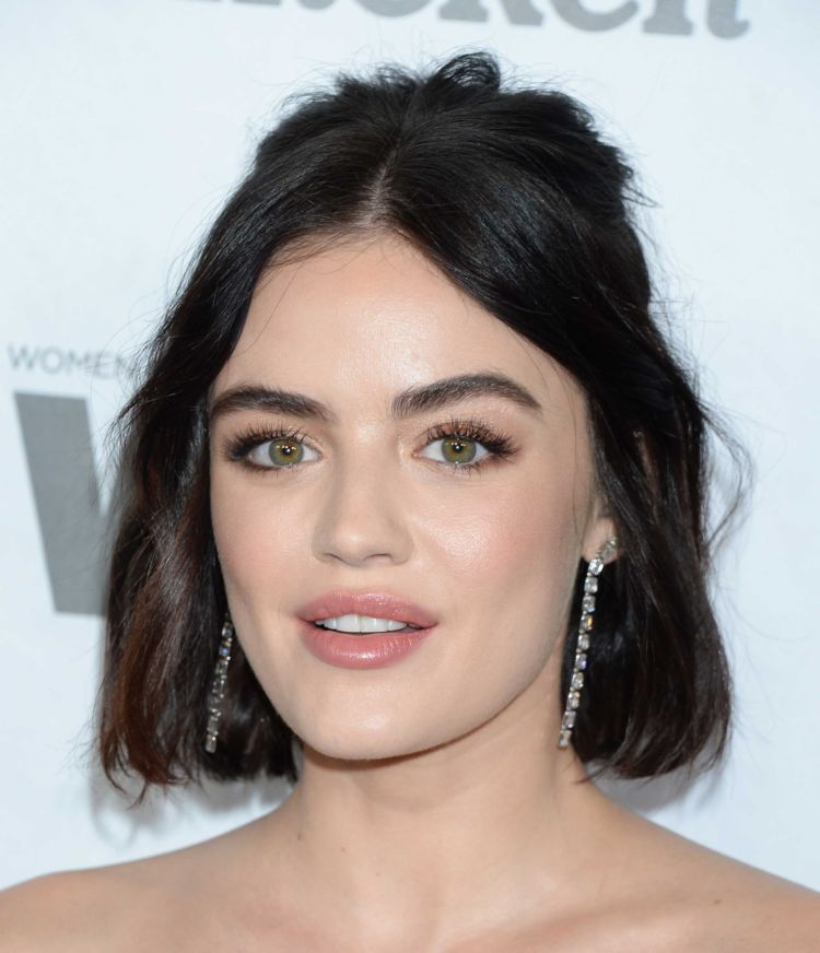 Pretty Lucy Hale Attends Variety & Women In Film's 2018 Pre-Emmy Celebration