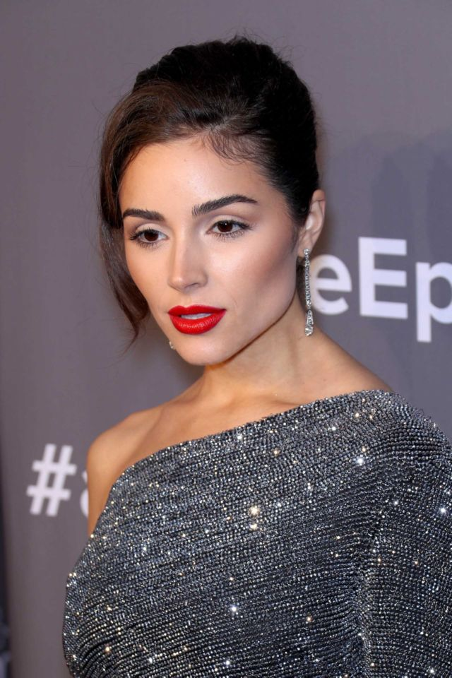 Gorgeous Olivia Culpo At The 2018 amfAR Gala