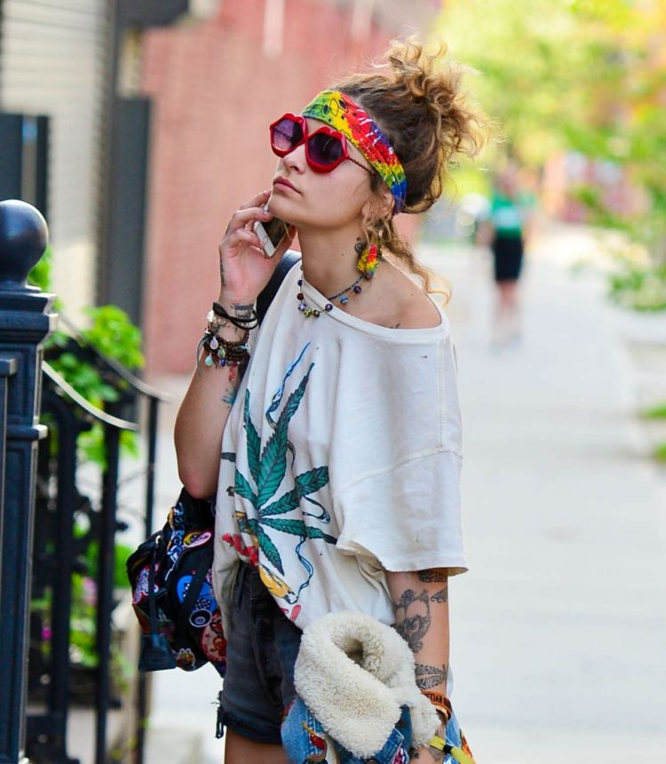 Paris Jackson Spotted Out In New York