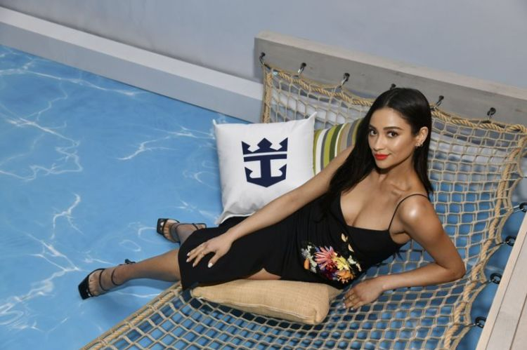Shay Mitchell Attends The Royal Caribbean March Brand Occasion