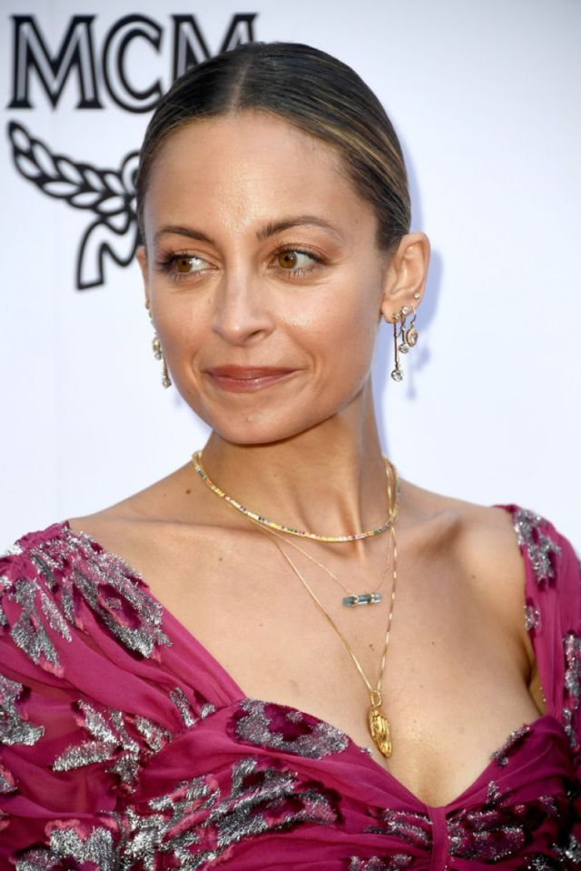 Nicole Richie On The Red Carpet Of The Daily Front Row Awards