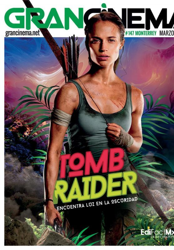 Alicia Vikander Got Featured In GranCinema Magazine (March 2018)'