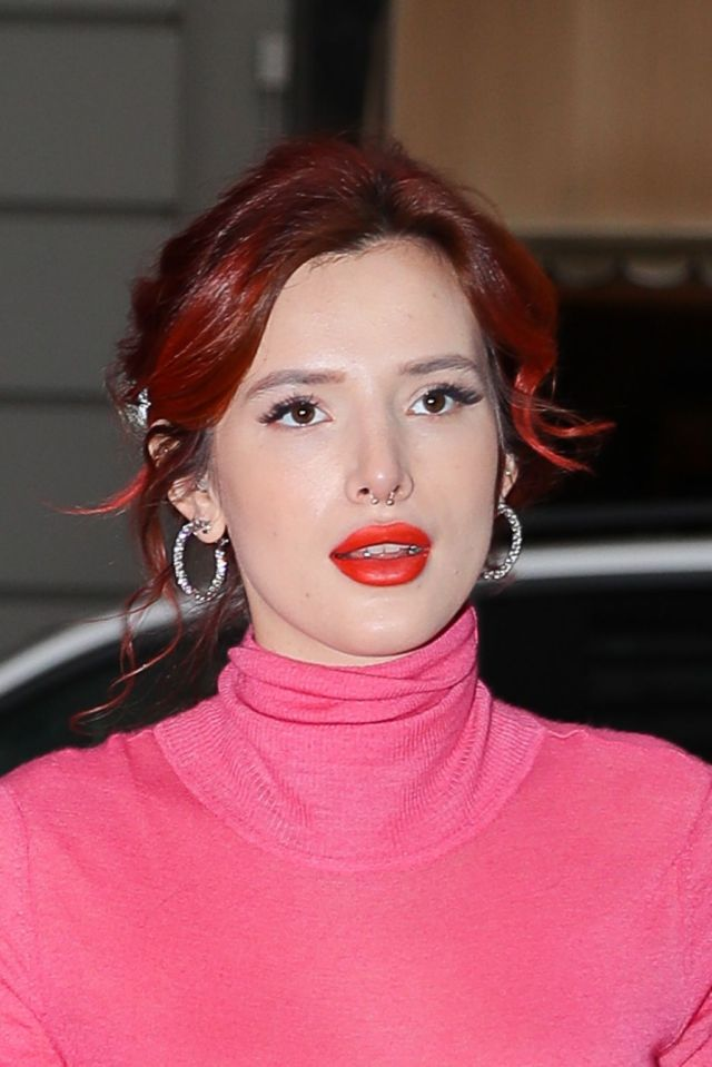 Bella Thorne Spotted Leaving Tonight Show Starring Jimmy Fallon