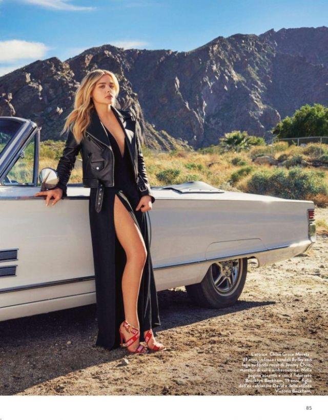 Chloe Moretz Photoshoot For Grazia Magazine