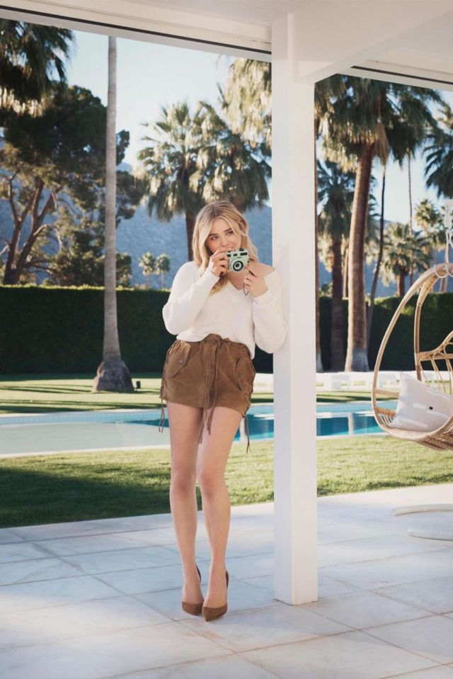 Chloe Moretz Shoots For Jimmy Choo Collection 2018