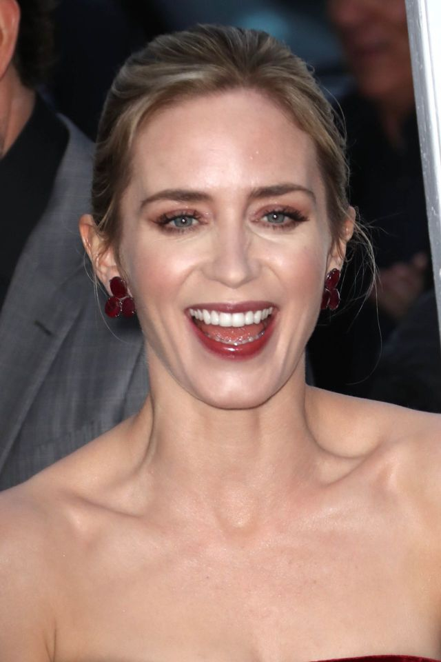 Emily Blunt And John Krasinski Attended 'A Quiet Place' Premiere Event