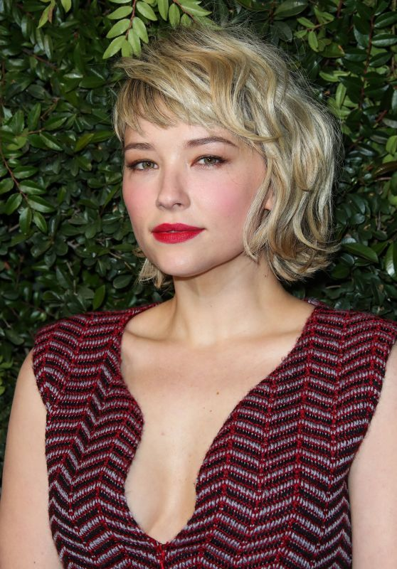 Haley Bennett Attends Chanel And Charles Finch Pre-Oscar Dinner
