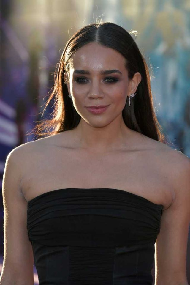 """Hannah John-Kamen Attends The Premiere Of """"Ready Player One"""""""