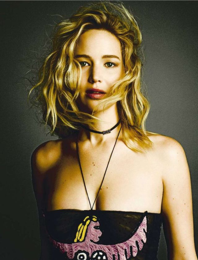 Jennifer Lawrence Shoots For Fashion Arts Spain Magazine
