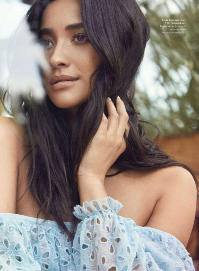 Shay Mitchell Glams Up Shape Magazine's March 2018 Issue