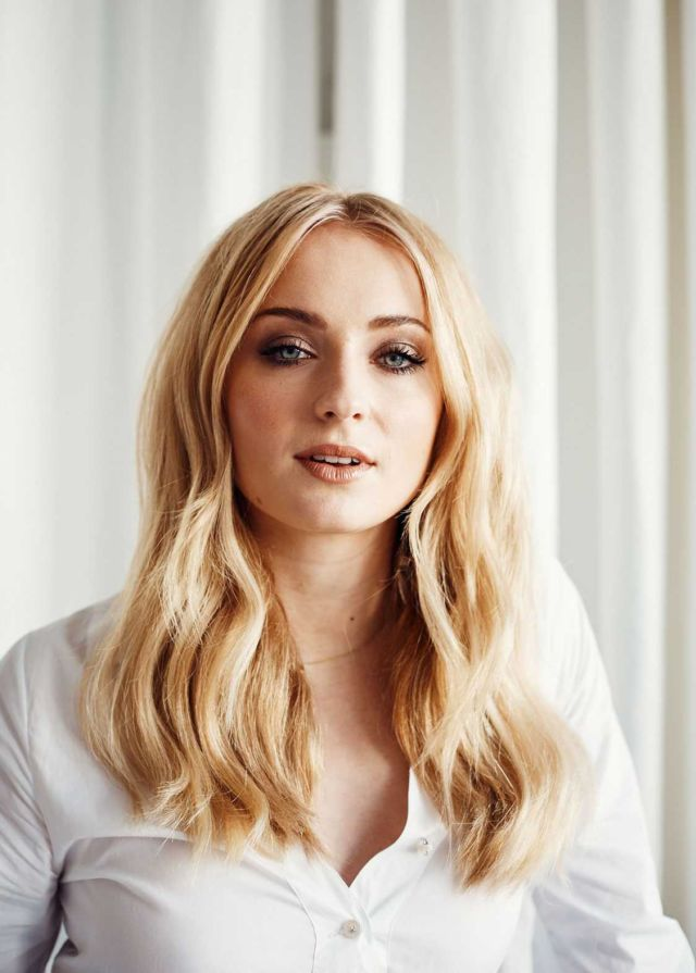 Sophie Turner Posing For Weston Wells Photoshoot For Coveteur