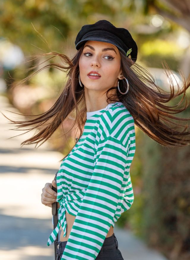 Victoria Justice's Stylish Photoshoot Featuring H&M Festival Collection