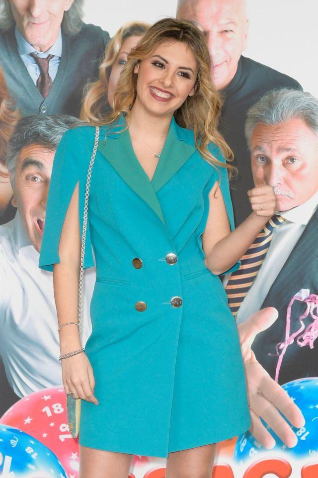 Flavia Stellato Poses For 'Una Festa Esagerata' Photocall