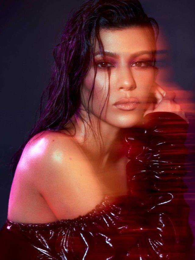 Kourtney Kardashian Shoots For V Magazine