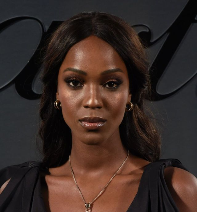 Leila Nda Posing For Cartier's Bold And Fearless Celebration