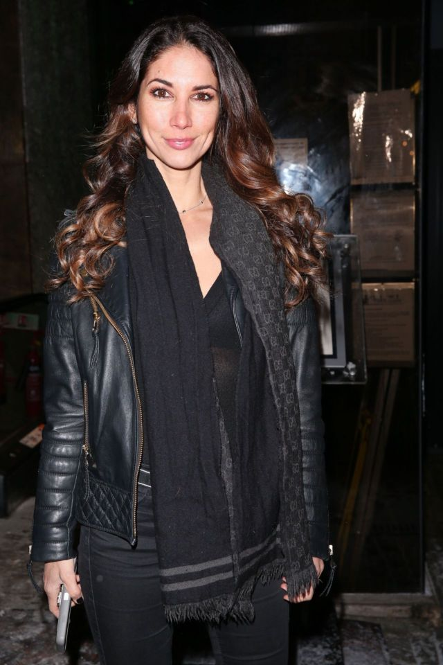 Leilani Dowding Looks Gorgeous In Black At Shaku Zulu