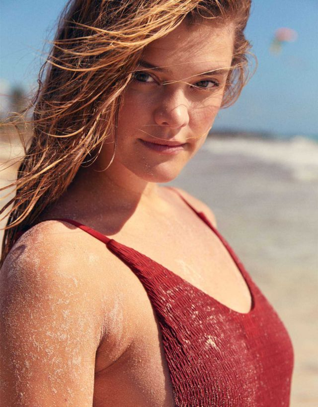 Nina Agdal For Aerie Exclusive Swimwear Collection Of 2018